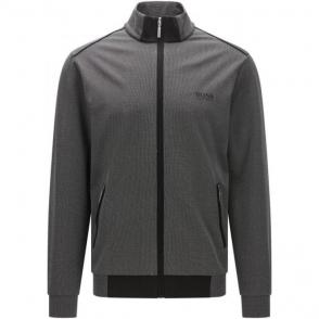Jacket Zip Loungewear in Black