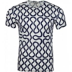 Vivienne Westwood Underwear Squiggle Tee in White