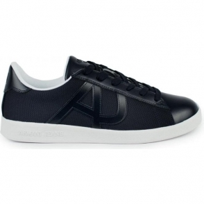 Armani Jeans AJ Sole Trainers in Navy