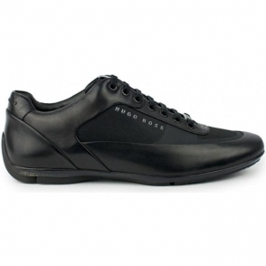 HBRacing_Lowp Trainers in Black