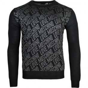 Love Moschino Knitwear in Black