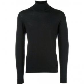 Turtleneck Knitwear in Black