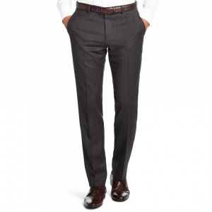Slim fit new wool business trousers 'Genesis2' by BOSS