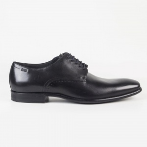 VIPERO Shoes In Black With Navy Laces