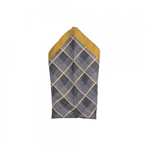 Pocket Square In Gold