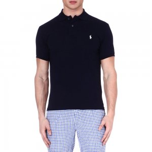 Polo Top In Black