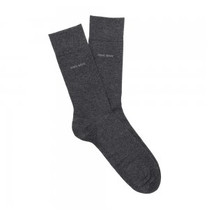 Socks 'Marc RS Uni' In a Cotton Blend With Elastane In Charcoal