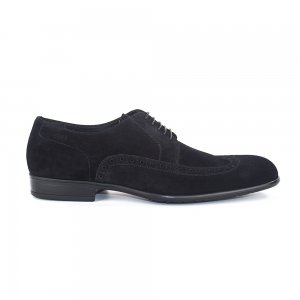 Boss Black Urbin Suede Shoes in Black