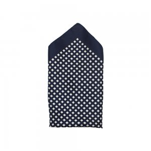 POCKET33X Pocket Square In Navy