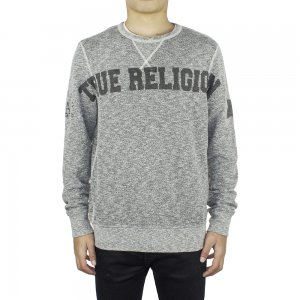 Wide Logo Sweatshirt In Dark Grey