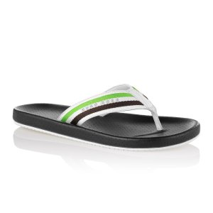 Boss Green Shoreline Flip Flops in Black