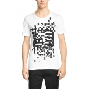 T-Shirt Dixelated In White