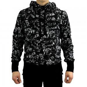 Sweatshirt Crazy Print in Black