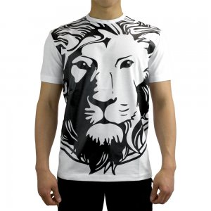 T-shirt Big Logo In White