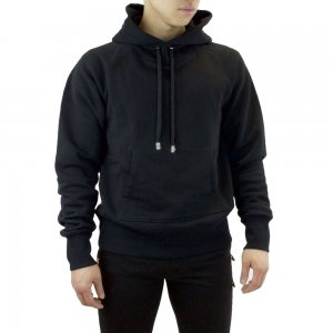 Sweatshirt Hooded In Black