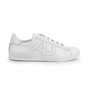 Armani Jeans Trainers in White