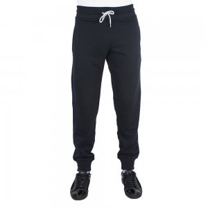 Tracksuit Bottoms Knitted Pant In Black