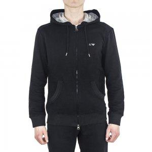Sweatshirt Logo hooded In Black