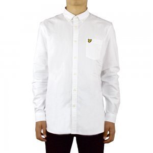 Lyle & Scott Vintage Shirts Oxfordls in White