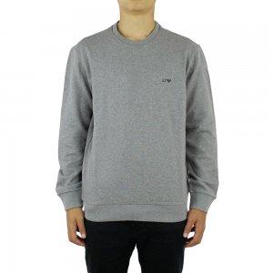 Armani Jeans Sweatshirt Logo Sweat in Grey
