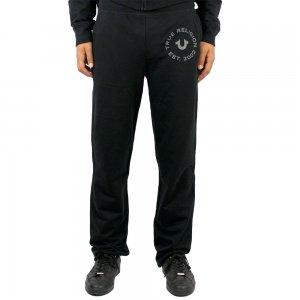 True Religion Jogging Bottoms Wide Leg in Black