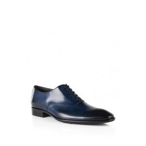 Boss Black Shoes Certeo Lace-up shoes in Dark Blue