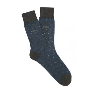 Boss Black Socks George Light Blue