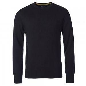 Barbour International Knitwear Throttled in Black