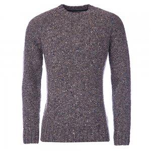 Barbour Knitwear Netherby in Grey