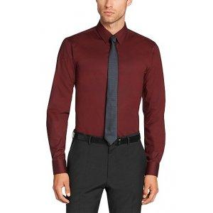 Hugo Formal Shirts Elisha01 in Dark Red