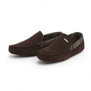 Barbour Slippers Monty in Brown