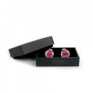 Boss Black Cufflinks Norberto in Pink