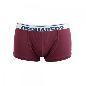 Dsquared2 Boxer Trunk in Burgendy
