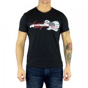 True Religion T-shirts Skull in Black