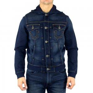 True Religion Jacket Dylan in Dark Washed