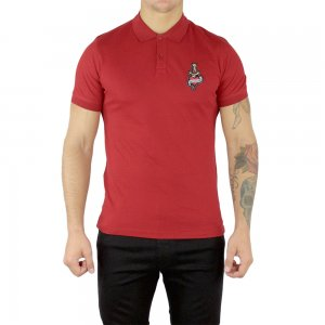 Moschino Polo Heart Love in Red