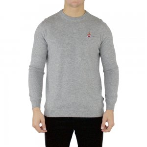 Moschino Knitwear Small Heart in Grey
