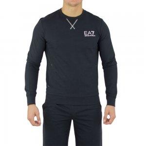 Ea7 Sweatshirt Coresweat in Dark Slate