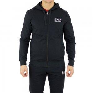 Ea7 Sweatshirt Corehood in Black