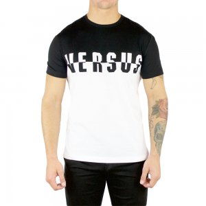 Versus Versace T-shirt Switch in Black