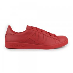 Armani Jeans Trainers AJ Trainer in Red