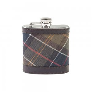 Barbour Accessories Hipflask in Olive
