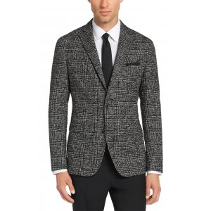 Boss Black Formal Jacket Ross in Grey