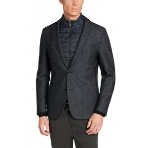 Boss Black Formal Jacket Menvin4 in Dark Blue