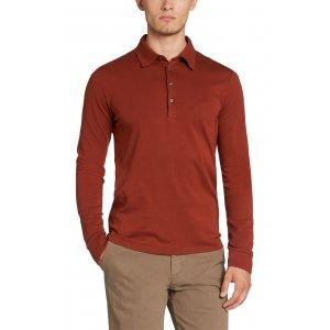 Boss Black Polo Shirts Paderna30 in Dark Red