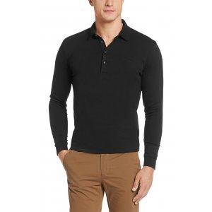Boss Black Polo Shirts Paderna 30 in Black