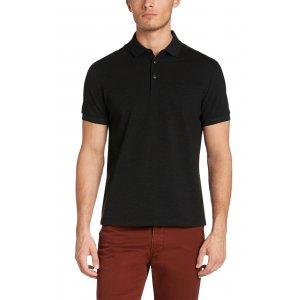 Boss Black Polo Shirts Vito 38 in Black