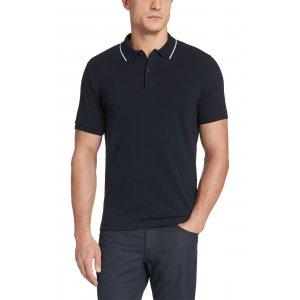 Boss Black Polo Shirts Firenze59 in Dark Blue