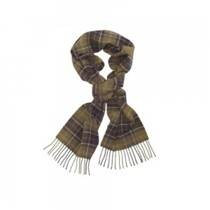 Barbour Scarf Tartan in Olive