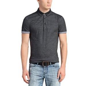 Boss Orange Polo Shirts Patcherman 2 in Black